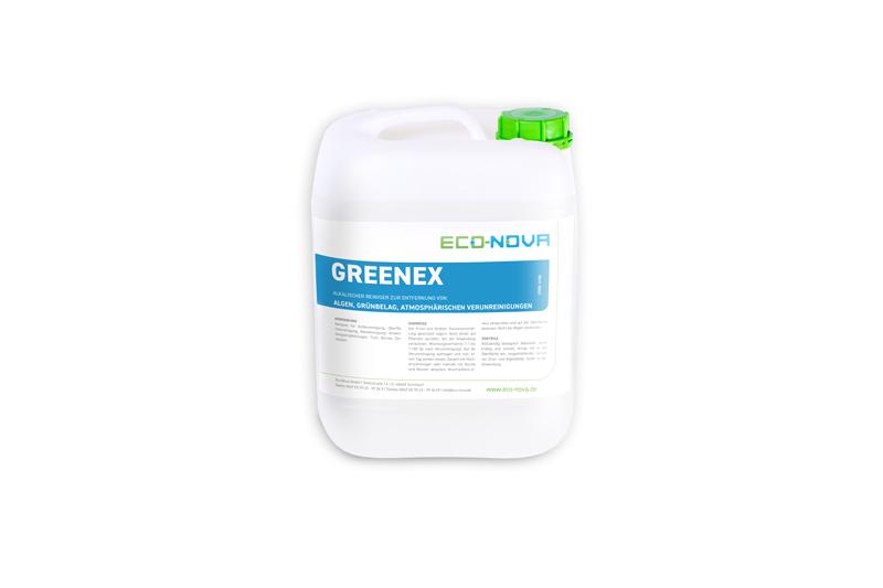 Spezialreiniger zur Entfernung von Algen und Grünbelag