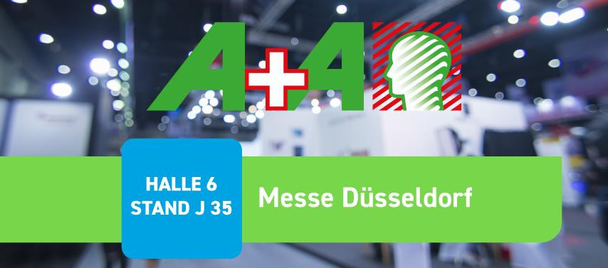 Messer A+A in Düsseldorf