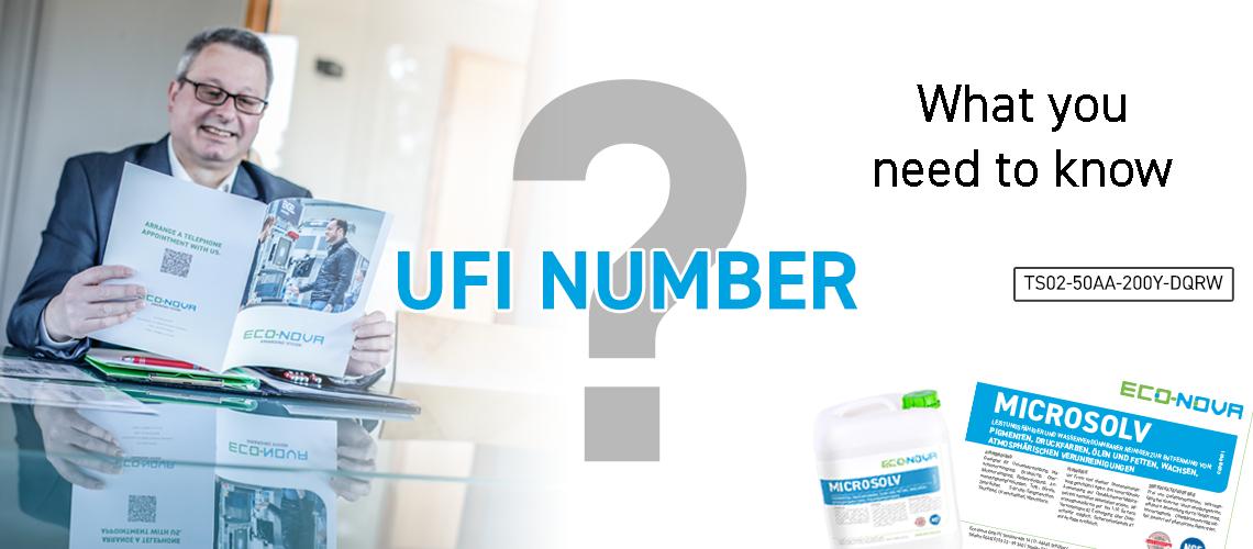 UFI Number Eco Nova