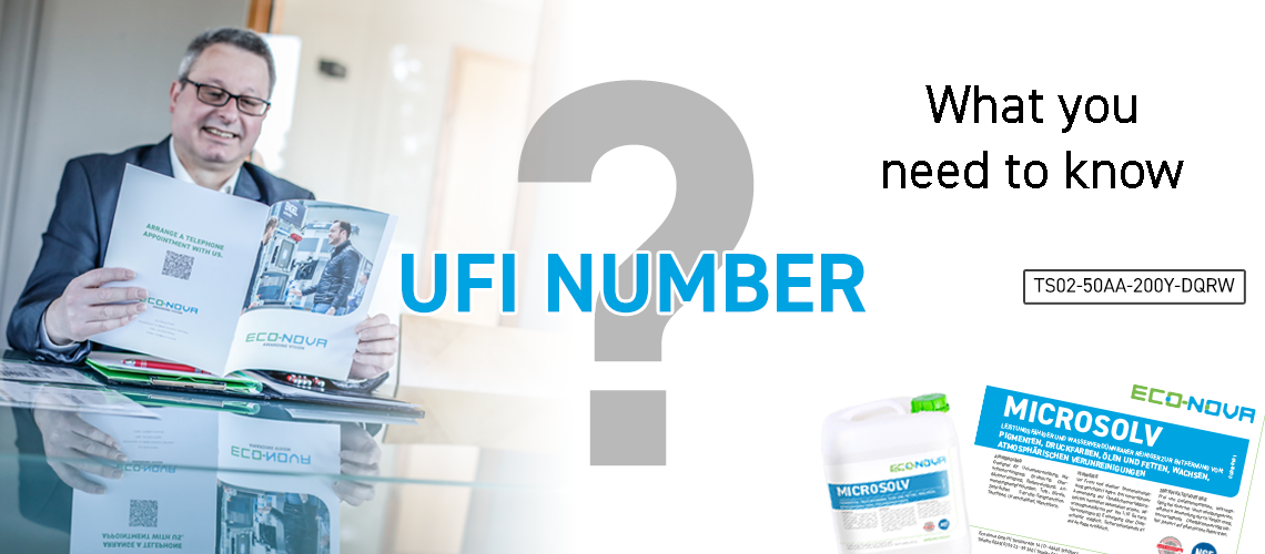 UFI Number Eco Nova